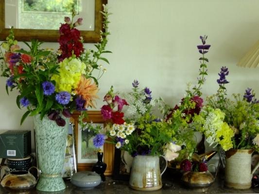 Fresh British Summer Flowers