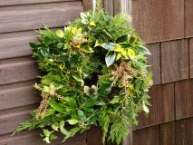 Christmas wreath, no floral foam
