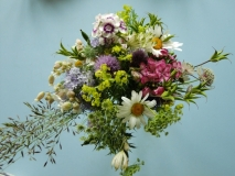 British Flowers wedding bouquet