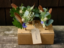 August Wedding Buttonholes