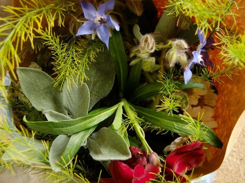Autumn Bouquet of British Flowers