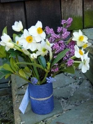 Bouquet of British Spring Flowers