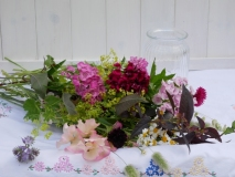 British locally grown flowers