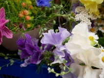 Scented seasonal British Flowers