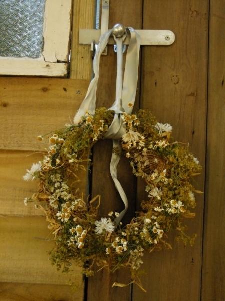 Dried British Flower Wreath