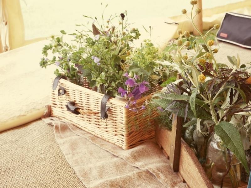 Cumbrian Wedding flowers in June