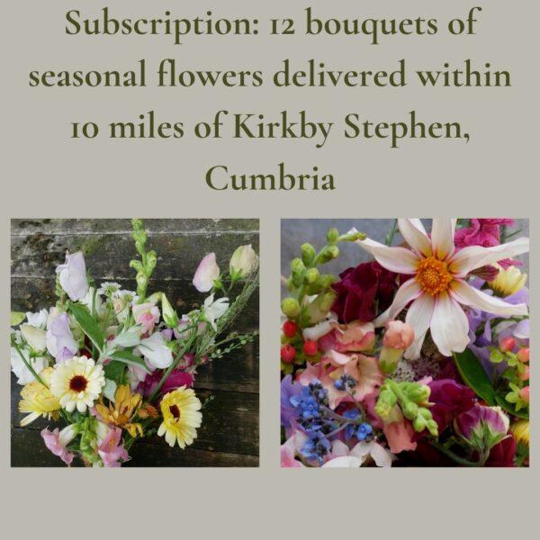 flowers grown in Kirkby Stephen