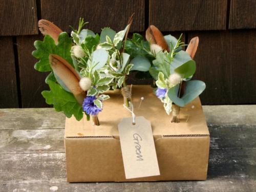 British Flowers Buttonholes