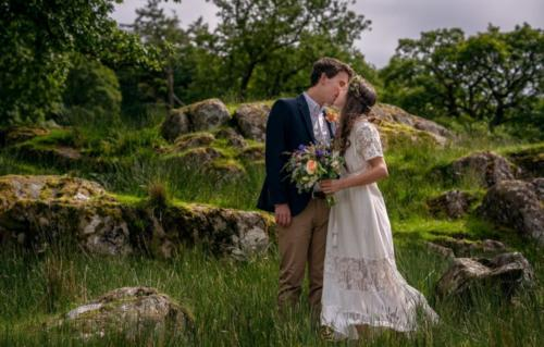 Countryside Cumbrian Wedding photography by Harry Bloxham