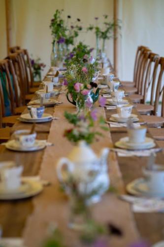 Cumbrian Wedding Decor Photo by Harry Bloxham