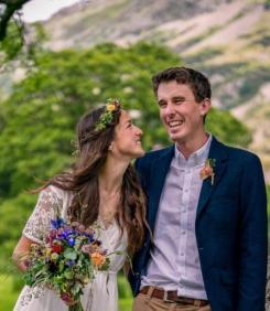 Cumbrian Wedding Flowers Photo by Harry Bloxham