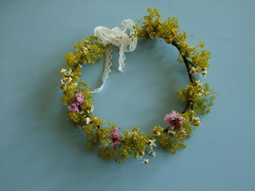 Delicate Dried Flower Crown