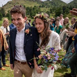 May Cumbrian Wedding Photo by Harry Bloxham